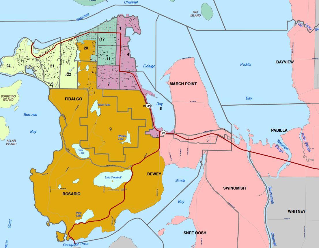 Commissioner District Map