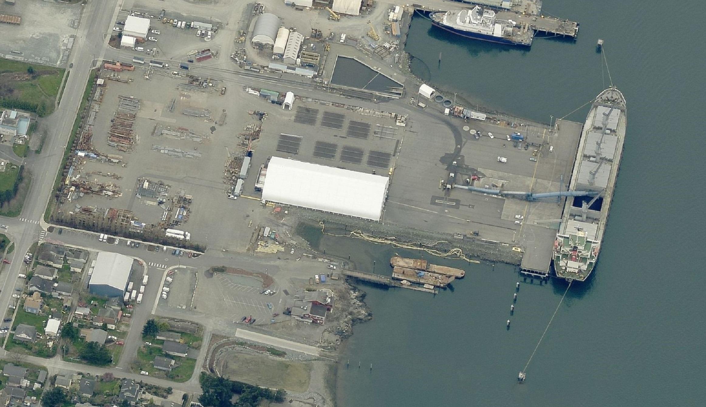 Anacortes Port Log Yard Site